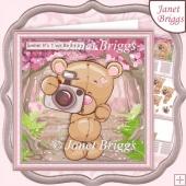 SMILE IT'S YOUR BIRTHDAY 7.5 Decoupage & Insert Kit