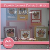 Beautiful Bouquet Baskets Craft Kit