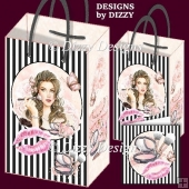 Beauty Glamour Girl Gift Bags