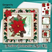 Festive Poinsettia Mini Kit