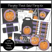 Pumpkin Patch Gold Party Set