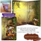 Harvest Your Blessings Thanksgiving Sweet Pocket Card