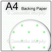 ref1_bp26 - White & Green Dots