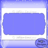 Square Gatefold Template 1
