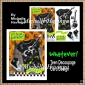 Whatever! 2 TeenDecoupage Card Design