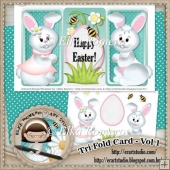 Tri Fold Card - Vol 1 (Easter)