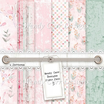 WENDY CARR DESIGNS PAPER PACK 3
