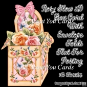Rosy Glow 3D Box Card Kit