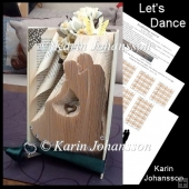 Let's Dance - Book folding