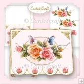Rosyglow fancy bottom card set