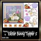 Easter Bunny Topper 5