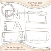 Nan Word Book Template Commercial Use