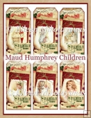 Family Time Vintage Maud Humphrey Children Tag Set