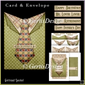 All Men Card Kit With Envelope