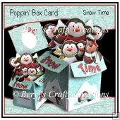 Poppin Box Card - Snow Time