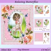 Relaxing Butterflies Mini Kit