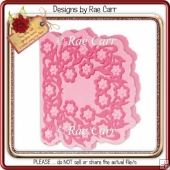 244 Flower Topper & Shaped Card *Multiple MACHINE Formats*