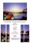 Ducati Motorbike - Biker Night - Dream Rider Fantasy