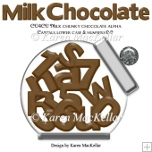 CU4CU Chunky Milk Chocolate Alpha Designer Resource