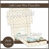 Caffe Latte Mini Pizza Box