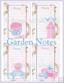 Garden Notes Embellishment Panels Set 2