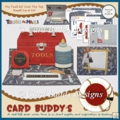 My Tool Kit Over the Top Easel Card Kit