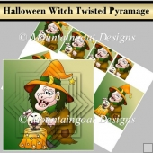 Halloween Witch Alternate Square Twisted Pyramage