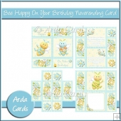 Bee Happy On Your Birthday Neverending Card
