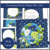 Enchanting Flowers Shadow Box Card