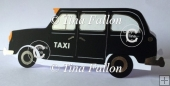 London Black Cab TX4 Taxi with Box and Insert