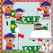 Golf Bear Boys Designer Resource Graphic