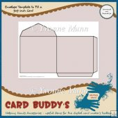 Envelope Template to Fit a 5x5 inch Card � CU/PU