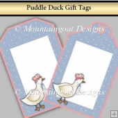 Puddle Duck Gift Tags