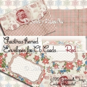 Christmas Envelope Red