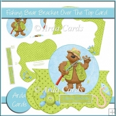 Fishing Bear Bracket Over The Top Card