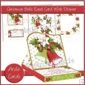 Christmas Bells Easel Card With Drawer