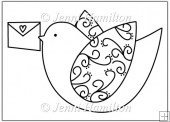 Lovedove Digital Stamp/Line Art