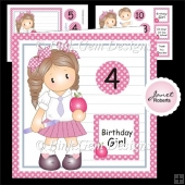 School Girl Chloe Mini Kit