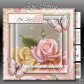 Butterfly Roses Mini Kit