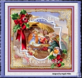 Nativity 7x7 card