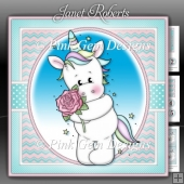 Unicorn with Rose Mini Kit with Ages 1 - 6 yrs