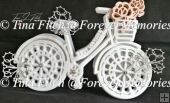 Best Wishes Bike Card TF0349, SVG,MTC,SCAL,Cricut,Cameo,ScanNCut