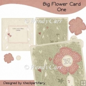 RTP Big Flower Card - ONE