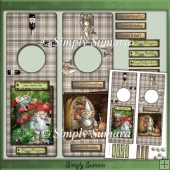Wine/Beer Bottle Gift Tags Gnomes