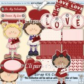 Be My Valentine Scrap Kit