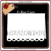 334 Thank You Card *Multiple MACHINE Formats*