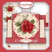 Red Rose Stepper card set
