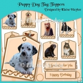 Puppy Dog Tag Toppers