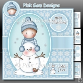 Andy and Snowman Mini Kit