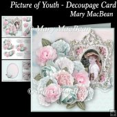 Picture of Youth Decoupage Card